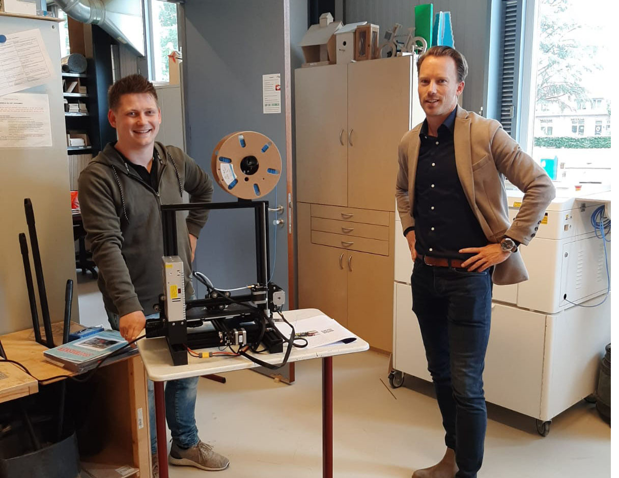 STO stelt 3D-printers beschikbaar voor de basisscholen