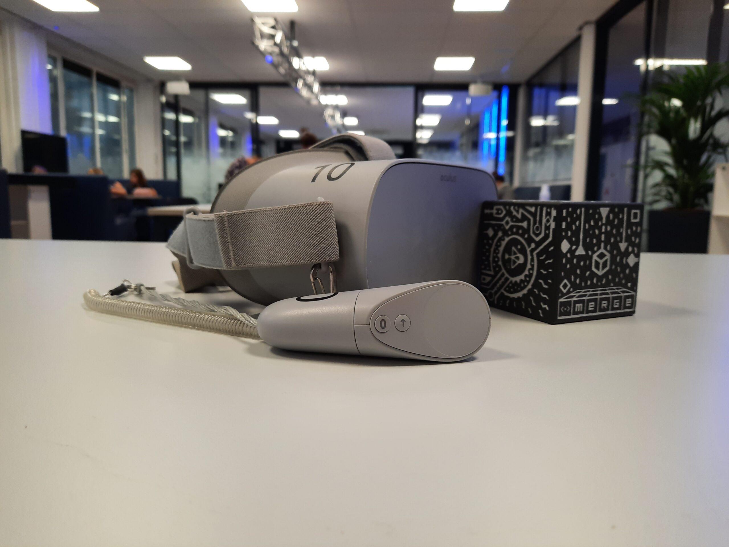 Docententraining VR/AR met Merge Cube