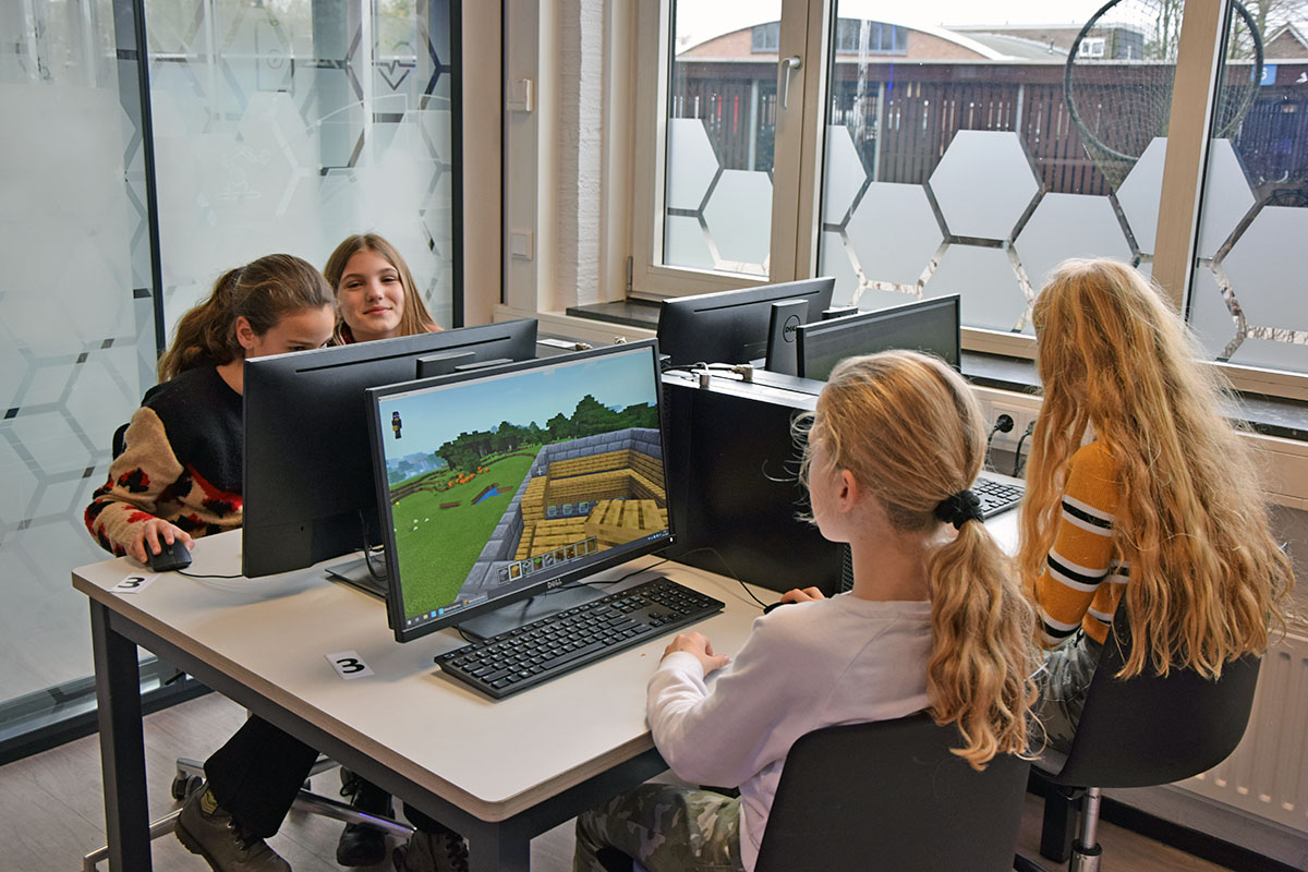 Gamend leren met Minecraft