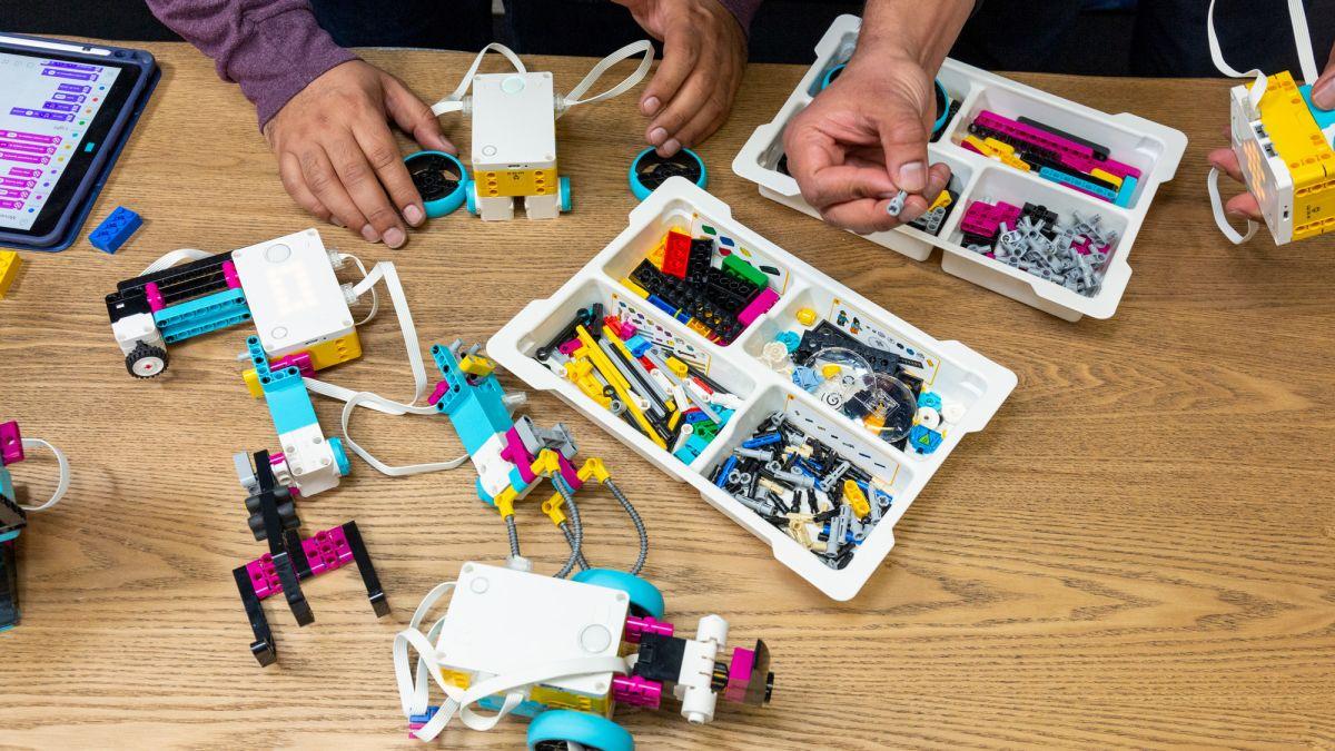 Digitale docententraining LEGO Spike Prime