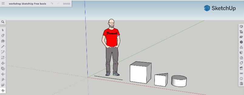 (Online) workshop SketchUp